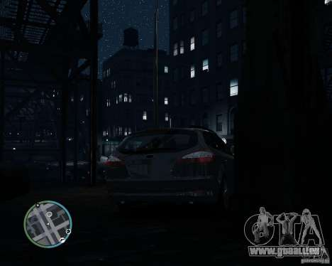 Ford Mondeo Mk4 für GTA 4 hinten links Ansicht