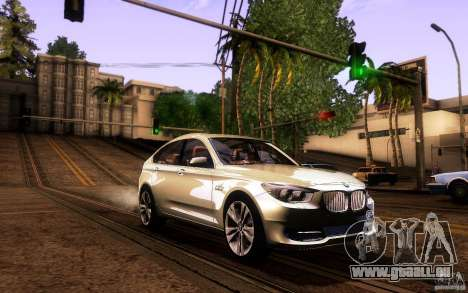 BMW 550i GranTurismo 2009 V1.0 für GTA San Andreas Unteransicht