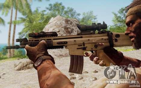 FN Scar L für GTA San Andreas sechsten Screenshot