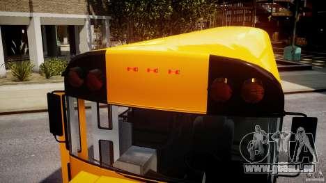 School Bus [Beta] pour GTA 4 est une vue de dessous