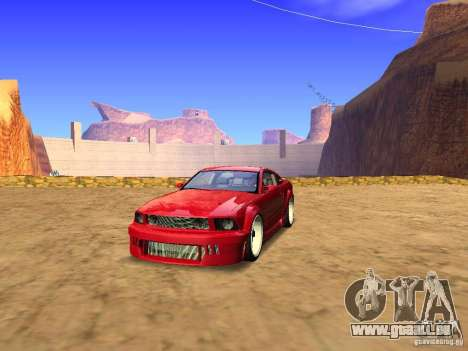Ford Mustang GT 2005 Tuned für GTA San Andreas
