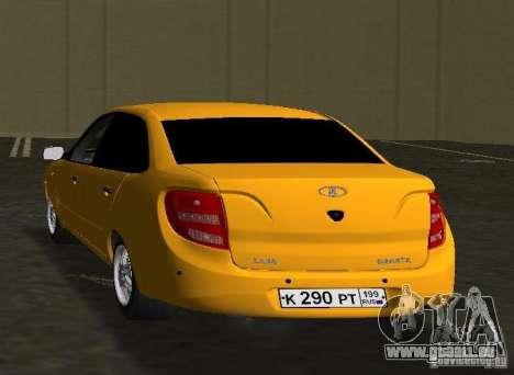 Lada Granta v2.0 für GTA Vice City zurück linke Ansicht