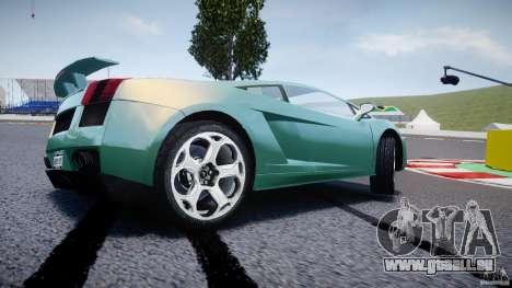 Lamborghini Gallardo pour GTA 4 roues