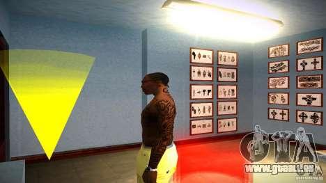Trois nouveau tatouage pour GTA San Andreas quatrième écran