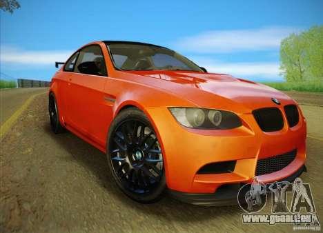 BMW M3 GT-S Final für GTA San Andreas Seitenansicht