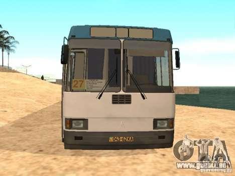 LAZ 52527 pour GTA San Andreas laissé vue