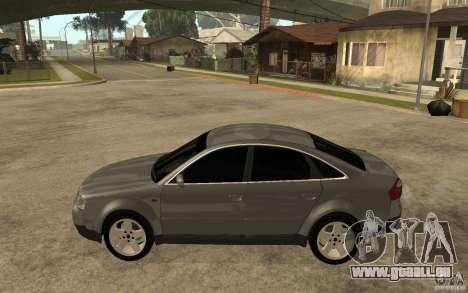 Audi A6 3.0i 1999 pour GTA San Andreas laissé vue