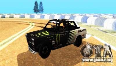 Datsun 510 Monster Energy für GTA San Andreas