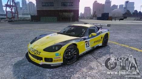 Chevrolet Corvette C6R GT1 pour GTA 4
