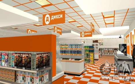 Nouvelle boutique Dixie pour GTA San Andreas deuxième écran