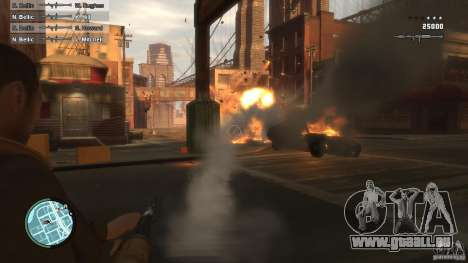 First Person Shooter Mod für GTA 4 dritte Screenshot