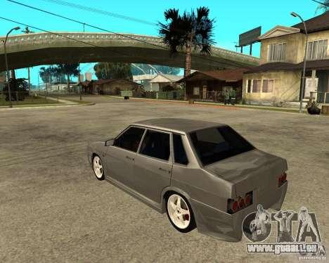 VAZ-2199 Lûbera tuning pour GTA San Andreas laissé vue