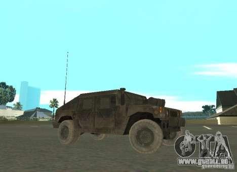 Hummer Cav 033 für GTA San Andreas linke Ansicht