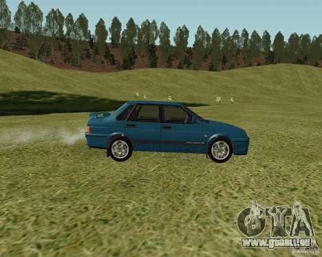 VAZ 21099 Suite pour GTA San Andreas sur la vue arrière gauche