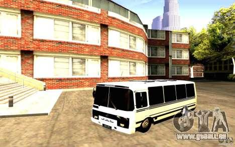 PAZ 3205 Dag pour GTA San Andreas vue de droite