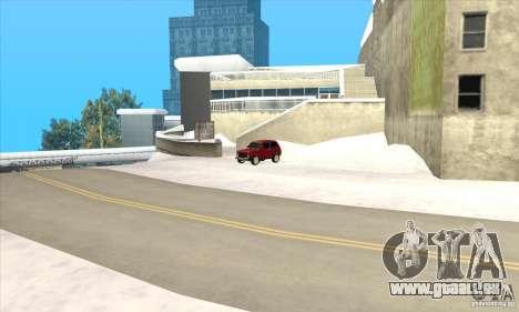 Vols à Liberty City pour GTA San Andreas quatrième écran