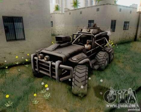 Cheta patte des Borderlands pour GTA San Andreas