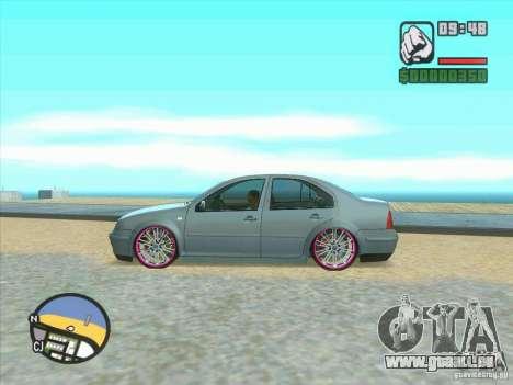 VW Bora Tuned für GTA San Andreas Rückansicht