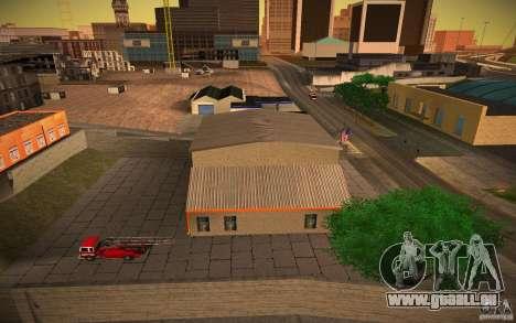 Service d'incendie de HD pour GTA San Andreas troisième écran