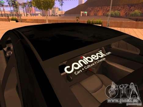 Infiniti G35 V.I.P für GTA San Andreas Innen