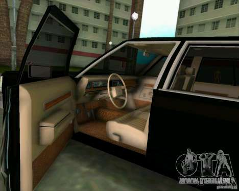 Ford Crown Victora LTD 1985 für GTA Vice City Rückansicht