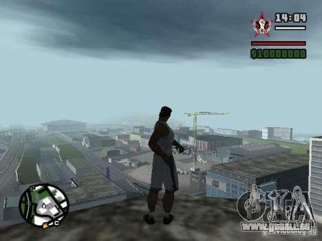SAUVER n'importe où pour GTA San Andreas cinquième écran