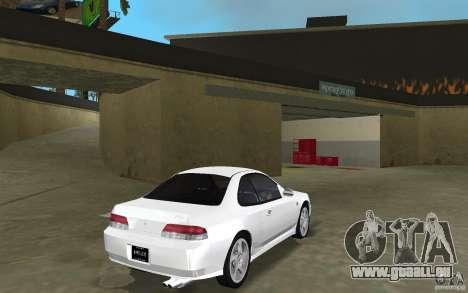Honda Prelude 2.2i für GTA Vice City Rückansicht