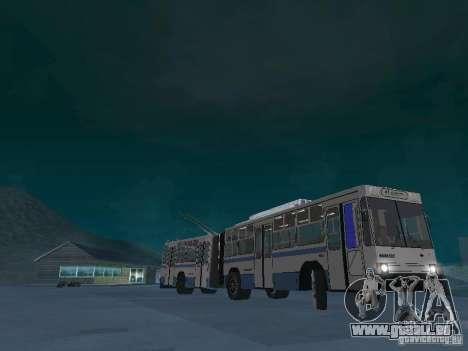 YUMZ T1 für GTA San Andreas Rückansicht