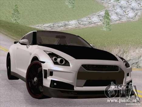 Nissan GTR Edited für GTA San Andreas linke Ansicht