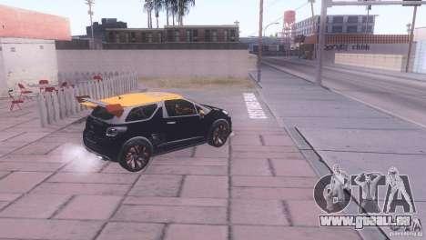Citroen DS3 Tuning für GTA San Andreas zurück linke Ansicht