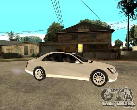 Maybach 57 S pour GTA San Andreas vue de droite