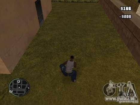 La marijuana v2 pour GTA San Andreas deuxième écran