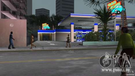 Aral Tankstelle Mod für GTA Vice City Screenshot her