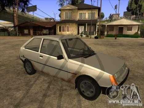 ZAZ Tavria 1102 pour GTA San Andreas