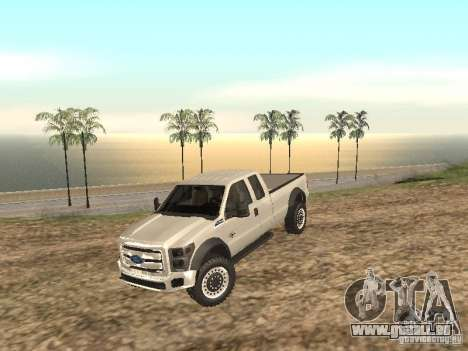 Ford Super Duty F-550 für GTA San Andreas