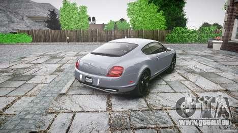 Bentley Continental SuperSports 2010 [EPM] für GTA 4 Seitenansicht