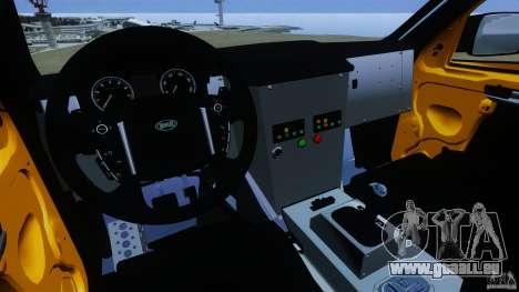 Bowler EXR S 2012 für GTA 4 Rückansicht
