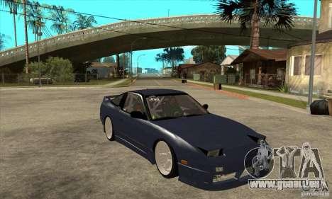 Nissan 180SX Turbo JDM pour GTA San Andreas vue arrière