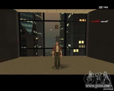 Change Skin pour GTA San Andreas troisième écran