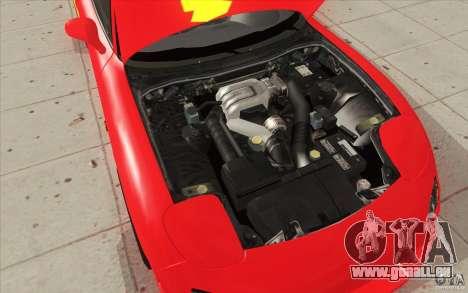 Mazda RX-7 - FnF2 für GTA San Andreas Innen