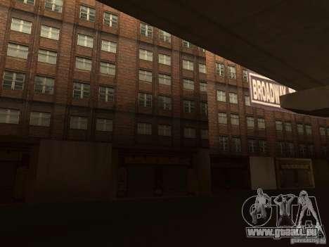 Neue Texturen Downtown Los Santos für GTA San Andreas her Screenshot