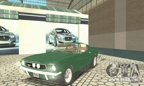 Ford Mustang Fastback 1967 für GTA San Andreas