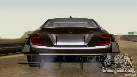 Mercedes Benz C-Class Touring 2008 pour GTA San Andreas vue arrière
