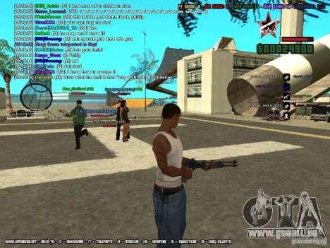 SA:MP 0.3d pour GTA San Andreas dixième écran