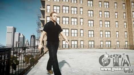 James Bond-Haut für GTA 4 Sekunden Bildschirm