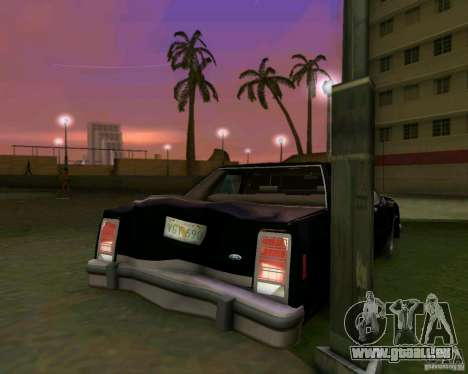 Ford Crown Victora LTD 1985 für GTA Vice City Motor
