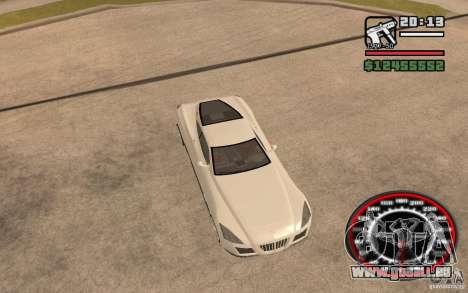 Maybach Exelero pour GTA San Andreas vue arrière