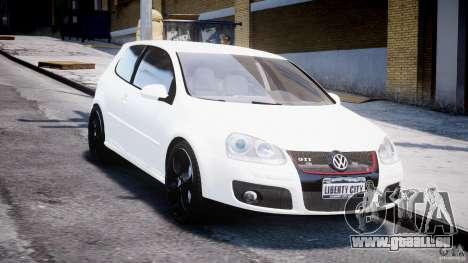 Volkswagen Golf 5 GTI pour GTA 4 Vue arrière