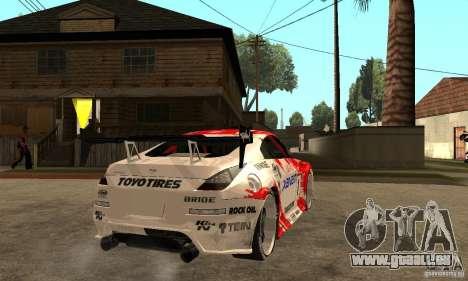 Nissan 350Z Xanavi pour GTA San Andreas vue de droite