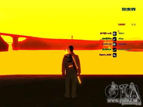 Nouveaux skins La Coza Nostry pour GTA: SA pour GTA San Andreas deuxième écran